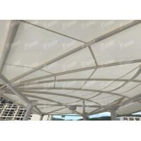 permanent architecture materials Light Rail Membrane Structure
