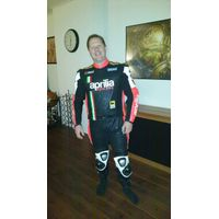 Aprilia leather suit