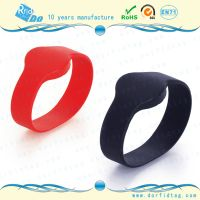 nfc wristband can be program with NFC phone