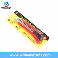 18mm Snap off Free Sample Plastic Pocket Safety Office Utility Cutter Knife