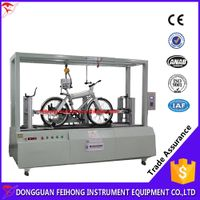 Microcomputer bicycle dynamic integrated universal testing machine