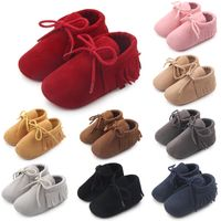 2017 baby shoes leather kids softwalk shoes baby moccasin
