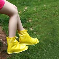 Fashion Portable PVC Rain Boot Cover Over Shoes