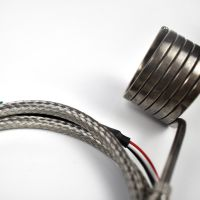 Industrial 36.550Mm Stainless Steel 380V 200W Hot Runner Coil Heater With Thermocouple thumbnail image