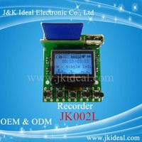 LCD display usb sd mp3 recorder module thumbnail image