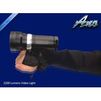 2200lumen photograph/video diving Scuba light underwater white/red torch waterproof 200M 18650