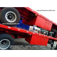 CHINA HEAVY LIFT - 40 ft Flatbed Container Trailer