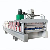 840MM & 900MM Well- Exported New Design Metal Double Layer Profile Roll Forming Machine thumbnail image