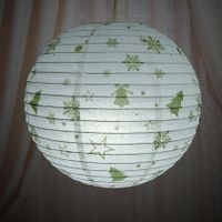 beautiful paper lampshade