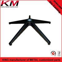 Outdoor metal customized cast 4 feet table legs