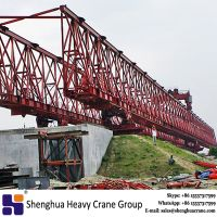 Truss type bridge double girder launching girder manufacturer
