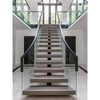 Ultra Glass Railing For Interior Staircase