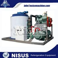 NISUS SEA WATER FLAKE ICE MACHINE