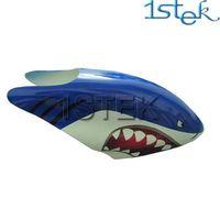 Fiber Glass Canopy for Trex450V2 shark rc helicopter