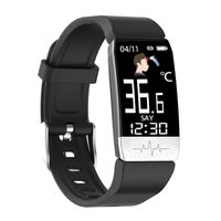 Fitness Tracker with Body Temperature, Heart Rate Monitor, and ECG Smart Bracelet thumbnail image
