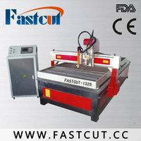 1300*2500mm plasma cutting machine with cnc router