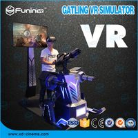Selling 2018 hot selling Gatling VR Simulator game machine with headset thumbnail image