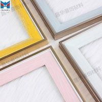 Series 3803 Changhua Lastest design colorful PS photo frame moulding
