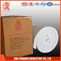 high temperature furnace insulation ceramic fiber wool blanket