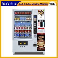 Automatic drink snack and coffee vending machine