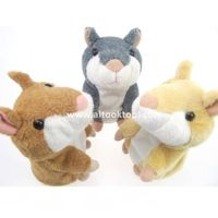 Funny Talking Hamster animal repeat Pet Talking Plush Toy Novelty Christmas gift