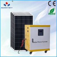 5KW solar power energy system and mppt controller inverter