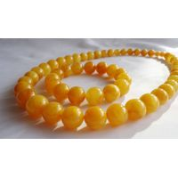 Beads of amber, Chinese honey