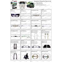 HINO MEGA 500 Chrome Bumper Front Panel Grill Head Lamp Truck Parts