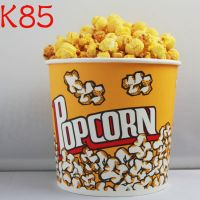 Custom Disposable Paper Popcorn Bucket