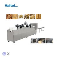 Commercial Cereal Candy Bar Forming and Cutting Machine