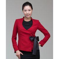 Formal Blazer Jacket Women with Satin Ribbon thumbnail image