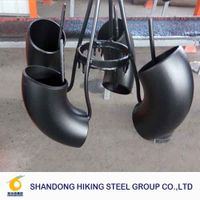 90degree elbow butt weld carbon steel pipe fittings ansi b16.9