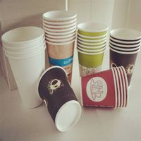 Custom LOGO Printed Cold Drink Paper Cups