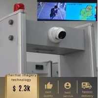 Walkthrough Metal Detector with Thermometry and Infrared Thermometer thumbnail image