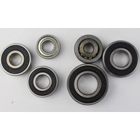 High Speed Low Noise Precision Sealed Bike or Ceiling Fan Deep Groove Ball Bearing
