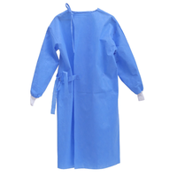 Surgical gown SMS gown PP/PE Gown isolation gowns thumbnail image