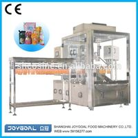 automatic spout pouch liquid filling and packing machine in shanghai