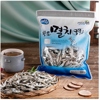 Korean Healthy seafood brand by Dried Anchovies of Wando Badamom for Soup