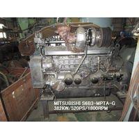 "USED FULL OVERHAULED ""MITSUBISHI"" DIESEL ENGINE MODEL S6B3-MPTA-G"
