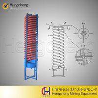 spiral chute tin chrome tungsten zircon separator rough gold separating machine thumbnail image