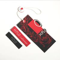 high quality name tag/price tag/garment tag design