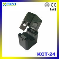 KCT-24 single phase current transformer split core ct open type 100A/25mA clamp on current transform