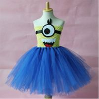 Halloween Girl Party Wear Western Tutu Dress For Baby Girl