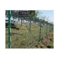 Cheap!Hot dip/Electro galvanized Double Twist Barbed wire fencing real factory