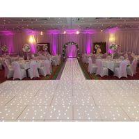 14x14ft acrylic led dance floor starlit dancing tile for wedding decoration thumbnail image