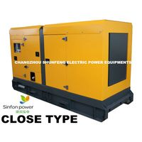 CLOSE TYPE/ Silent Canopy/ generating set/ Diesel Generator