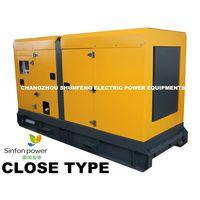 CLOSE TYPE/ Silent Canopy/ generating set/ Diesel Generator