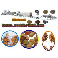 dry dog pellet food making machines in China thumbnail image