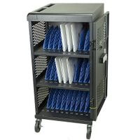 """Y630BH, AC Charging Cart for Chromebook/Laptop/Macbook/Surface Pro/Ipad up to 14"""", 30 slots thumbnail image"""