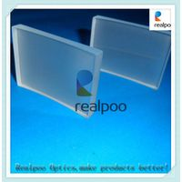 Factory supply optical glass Retangular plano-convex lenses